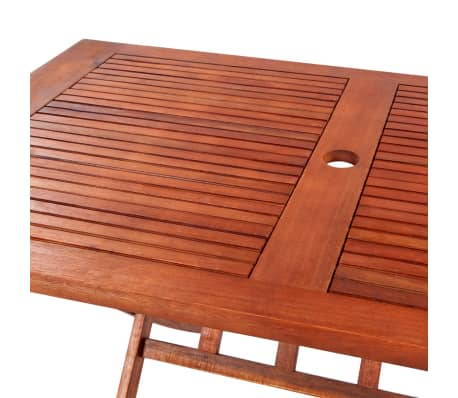 Rectangular Wooden Outdoor Dining Table[3/4]