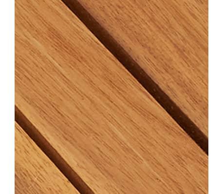 10 stk. terrassefliser i akacietræ 30 x 30 cm lodret mønster[5/5]