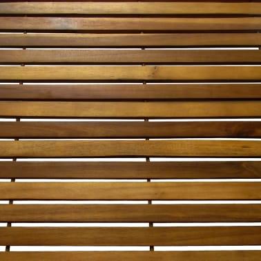 Badematte aus Akazienholz 80 x 50 cm[3/4]