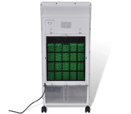 vidaXL Enfriador de aire ventilador purificador humidificador 8 L[6/9]