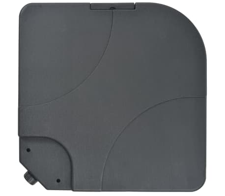 Portable Parasol Base Sand / Water Filled 16 Gal[2/6]