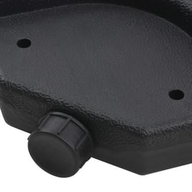 Portable Parasol Base Sand / Water Filled 16 Gal[3/6]