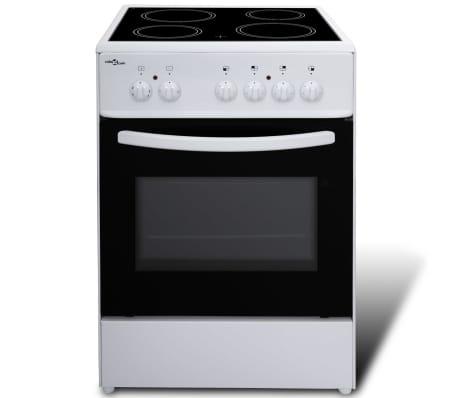 k chenzeile 5 tlg eichenoptik mit freistehendem herd g nstig kaufen. Black Bedroom Furniture Sets. Home Design Ideas