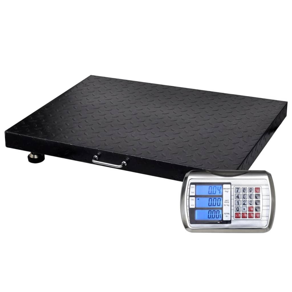 Cântar platformă wireless cu baterii incluse, 300 kg vidaxl.ro