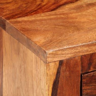 vidaXL Nightstand with 1 Drawer Solid Sheesham Wood[6/11]