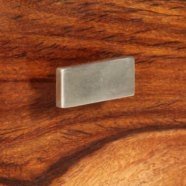 vidaXL Nightstand with 1 Drawer Solid Sheesham Wood[7/11]