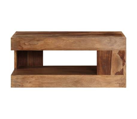 vidaXL Table basse Bois massif de Sesham[2/10]