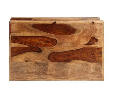 vidaXL Table basse Bois massif de Sesham[3/10]