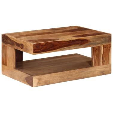 vidaXL Table basse Bois massif de Sesham[9/10]