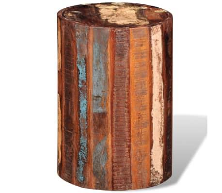 vidaXL Baro kėdutė, perdirbta masyvi mediena[2/7]