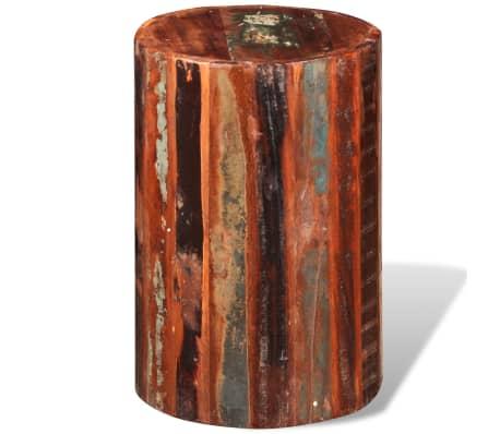 vidaXL Baro kėdutė, perdirbta masyvi mediena[5/7]