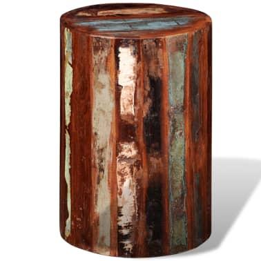 vidaXL Baro kėdutė, perdirbta masyvi mediena[4/7]