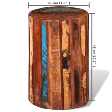 vidaXL Baro kėdutė, perdirbta masyvi mediena[7/7]