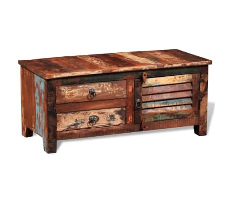 vidaXL Reclaimed TV Hi-Fi Cabinet Side Cabinet Solid Wood[4/11]