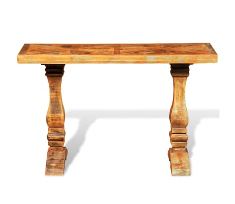 vidaxl holz konsolentisch antik recycelt wandtisch tischkonsole handarbeit ebay. Black Bedroom Furniture Sets. Home Design Ideas