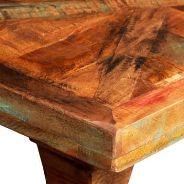 vidaXL Konsolinis staliukas, masyvi perdirbta mediena[6/7]