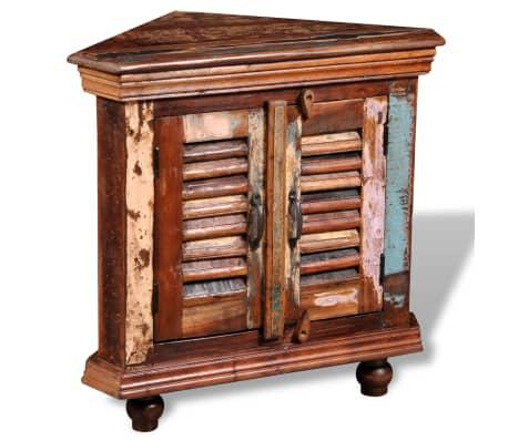 vidaxl reclaimed corner cabinet solid wood vidaxl com