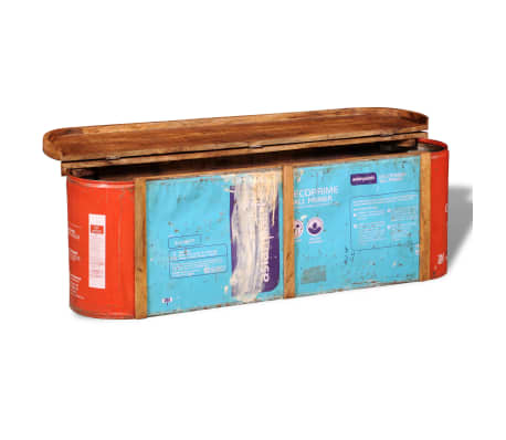 Reclaimed Solid Wood Sideboard Storage Bench[8/11]