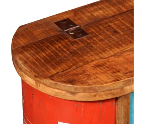 Reclaimed Solid Wood Sideboard Storage Bench[9/11]
