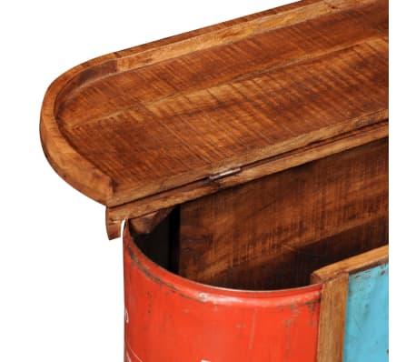 Klupica za spremanje stvari od iskrčenog drveta[10/11]