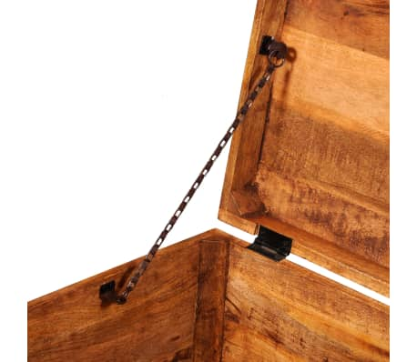 vidaXL Storage Chest Cubic Rough Mango Wood[8/11]