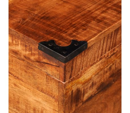 vidaXL Storage Chest Cubic Rough Mango Wood[9/11]