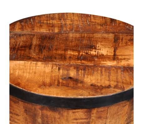schemel aus grobem mangoholz g nstig kaufen. Black Bedroom Furniture Sets. Home Design Ideas