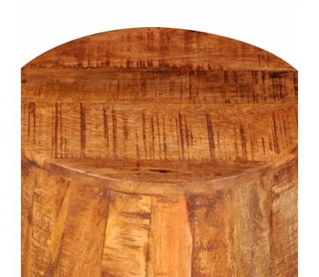 Rough Mango Wood Drum Stool[6/7]
