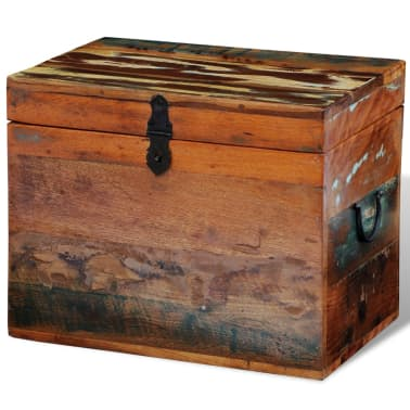 vidaXL Reclaimed Storage Box Solid Wood[1/7]