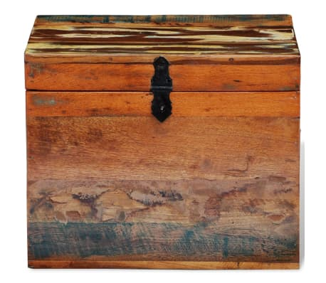 vidaXL Reclaimed Storage Box Solid Wood[4/7]