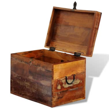 vidaXL Reclaimed Storage Box Solid Wood[3/7]