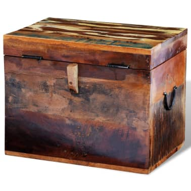 vidaXL Reclaimed Storage Box Solid Wood[5/7]