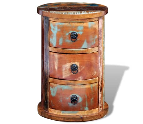 vidaXL Armario pequeño con 3 cajones madera maciza[3/11]