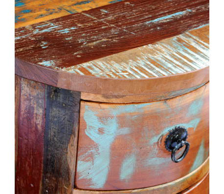 vidaXL Armario pequeño con 3 cajones madera maciza[6/11]