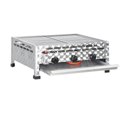 vidaxl gastro gasgrill bbq br ter 3 brenner edelstahl g nstig kaufen. Black Bedroom Furniture Sets. Home Design Ideas