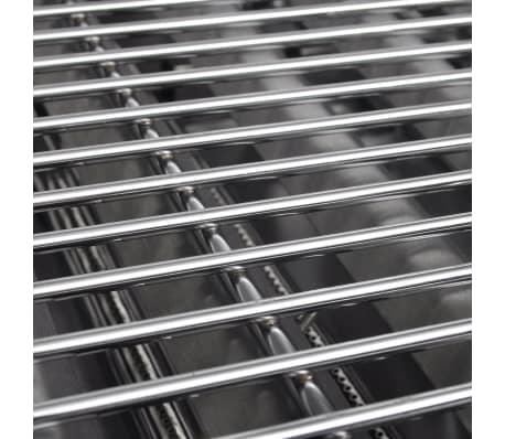 vidaxl gastro gasgrill 3 brenner edelstahl bbq br ter mit ablageregal zum schn ppchenpreis. Black Bedroom Furniture Sets. Home Design Ideas
