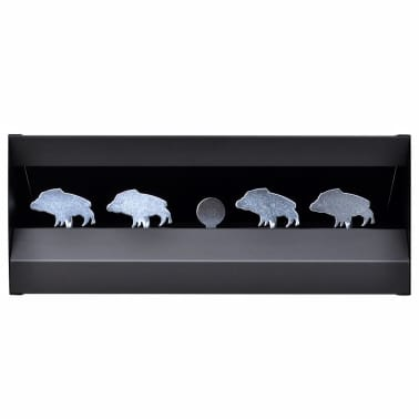 Magnetischer Scheibenkasten 4 + 1 Ziele im Wildschwein-Design[2/3]