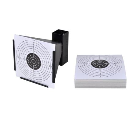 Schietkaart trechtervormig met kogelvanger + 100 papieren doelen[1/4]