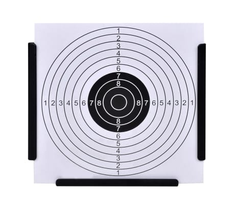 Schietkaart trechtervormig met kogelvanger + 100 papieren doelen[2/4]
