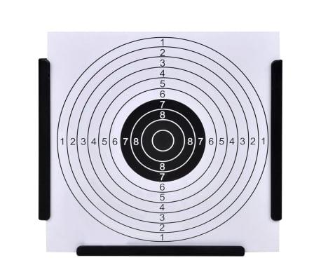 vidaXL Support de 14 cm avec 100 cibles papier[2/4]