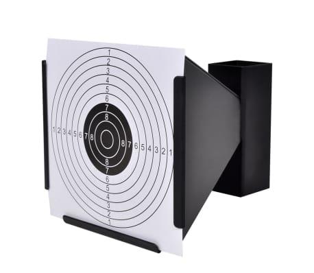 vidaXL Support de 14 cm avec 100 cibles papier[3/4]