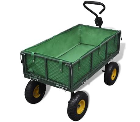 Carrello da Giardino Capacità di Carico 350 kg[3/5]