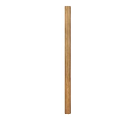 vidaXL Biombo/divisória de sala 250x195 cm bambu natural[2/4]