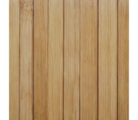 vidaXL Biombo/divisória de sala 250x195 cm bambu natural[4/4]