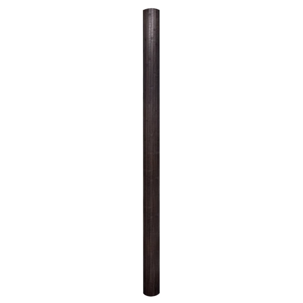 99241669 Raumteiler Bambus Dunkelbraun 250×195 cm