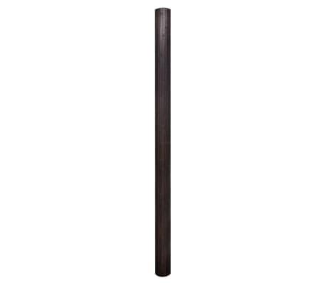 acheter vidaxl cloison de s paration bambou marron fonc 250 x 195 cm pas cher. Black Bedroom Furniture Sets. Home Design Ideas