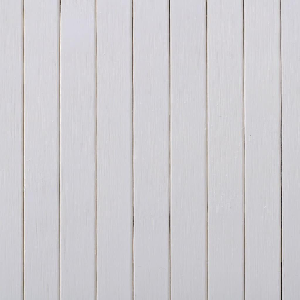 Ruumijagaja, bambus, valge 250 x 165 cm