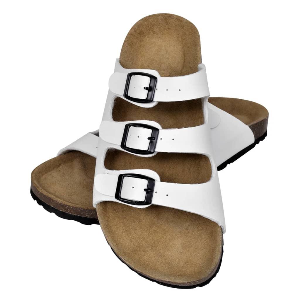 Korktallaga sandaalid 3 rihmaga unisex suurus 36 ..