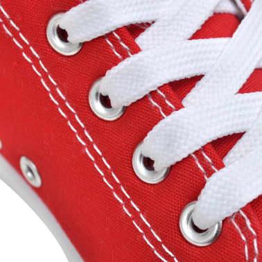 Klassieke lage dames sneakers rood (maat 36)[4/6]