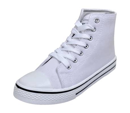 Wit Hoge Sneakers Dames Klassieke Online maat 40 nl Kopen Vidaxl t7xd7an